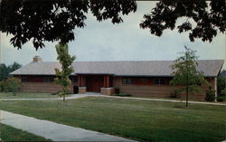 Aldridge Recreation Center, William Wood College Postcard