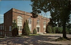 William Jewell College - Brown Gymnasium Postcard