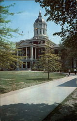 Jesse Hall, University of Missouri Postcard
