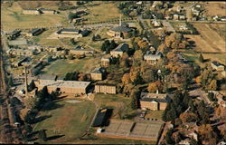 Aerial View of Susquehanna University Postcard