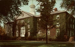 West College, the Oldest Building at Dickinson College