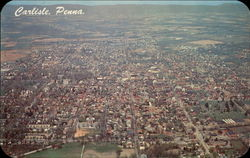 Aerial View of Carlisle, Penna