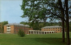 The Tussey-Terrace residence complex for men at Juniata College Postcard