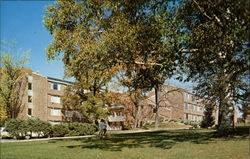 Thiel College, Middle Residence Hall Postcard