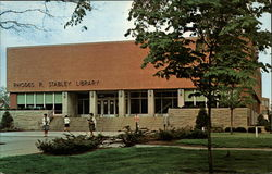 Rhodes R. Stabley Library, Indiana University of Pennsylvania Postcard