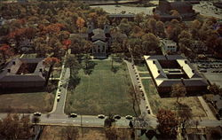 Aerial view of Wofford College