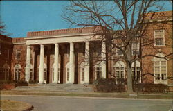 Winthrop College, Johnson Hall Postcard