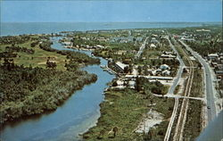 Air view of Gasparilla Island