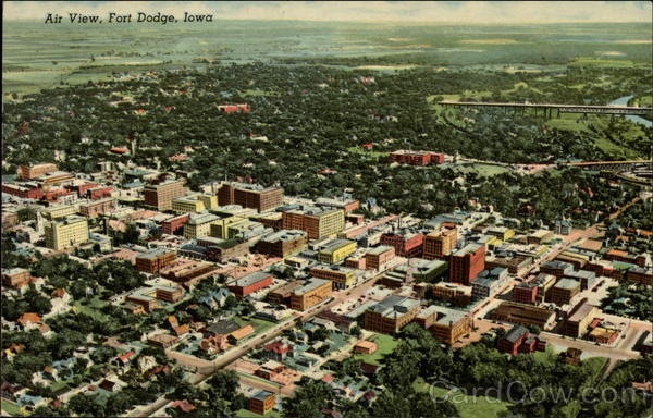 Air View Fort Dodge Iowa