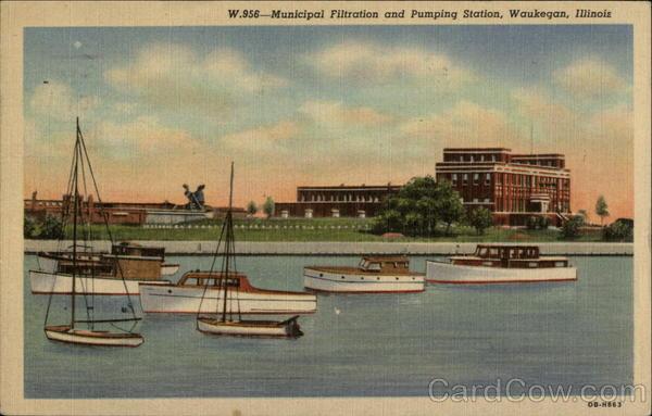 Municipal filtration and Pumping Station Waukegan Illinois