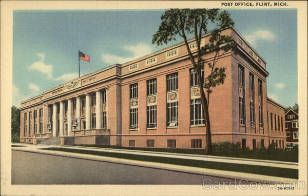 Post Office Flint Michigan