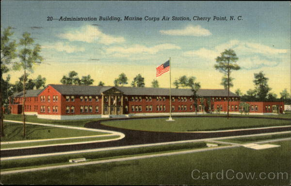 Administration Building, Marine Corps Air Station, Cherry Point Havelock North Carolina