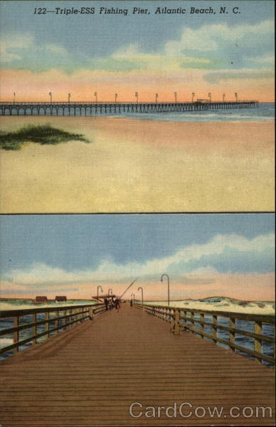 Triple ess fishing pier atlantic beach nc for Atlantic city fishing pier