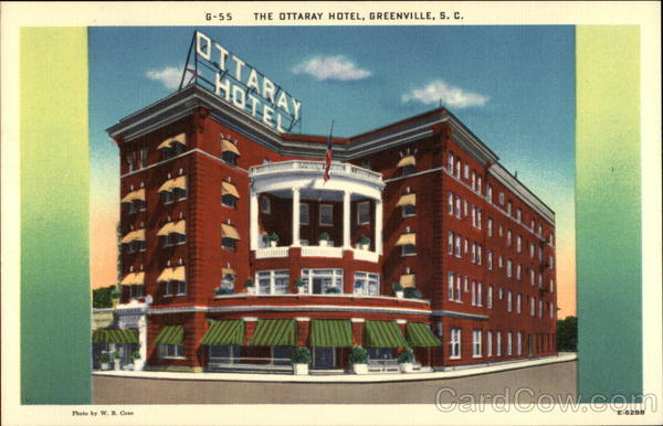 The Ottaray Hotel Greenville South Carolina