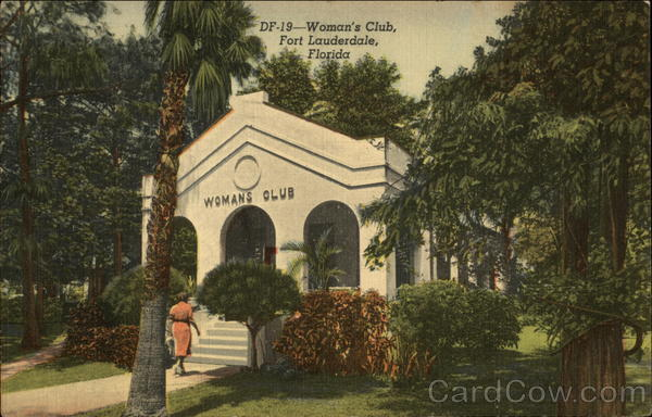 Woman's Club Fort Lauderdale Florida