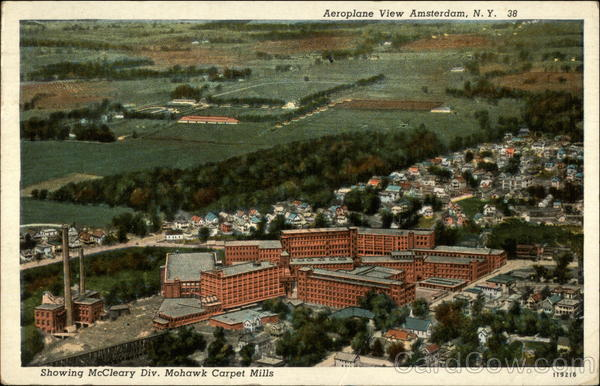 Aeroplane View Showing Mccleary Div Mohawk Carpet Mills