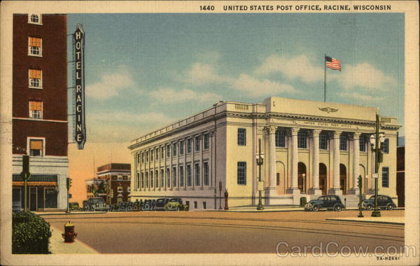 United States Post Office Racine Wisconsin