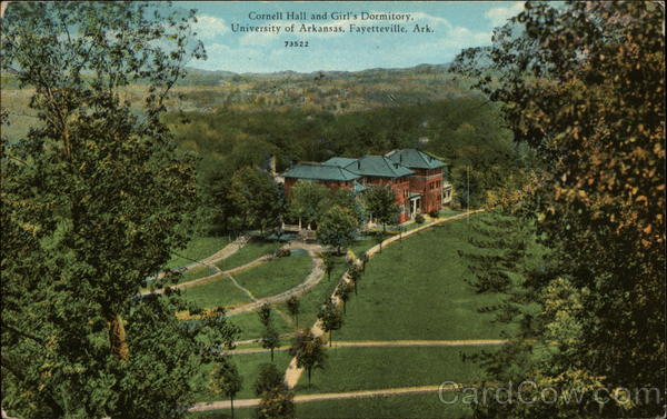 Cornell Hall and Girl's Dormitory, University of Arkansas Fayetteville
