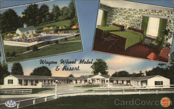 Wagon Wheel Motel & Resort Alexandria Virginia James E. Hess