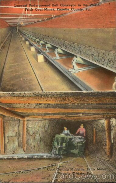 frick coal mines fayette county  pa