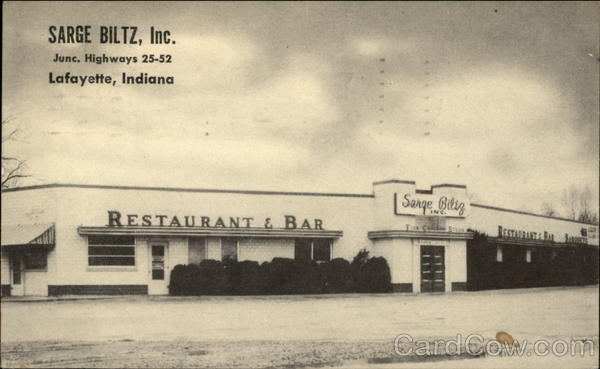Saarge Biltz, Inc. Restaurant and Bar Lafayette Indiana
