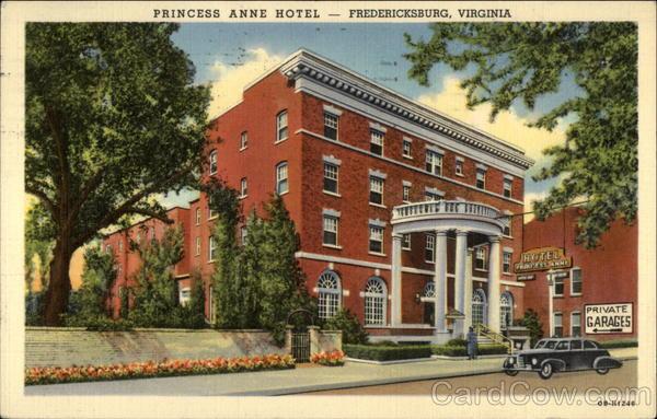 princess anne hotel fredericksburg va. Black Bedroom Furniture Sets. Home Design Ideas