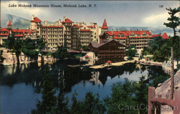 Lake Mohonk Mountain House Mohonk Lake New York