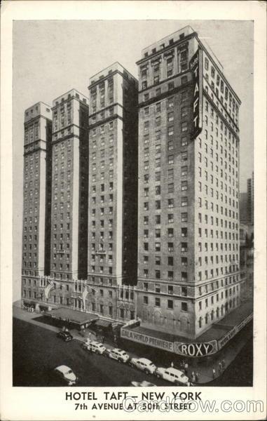 Hotel Taft New York Ny