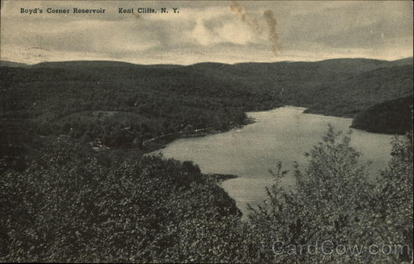 Boyd's Corner Reservoir Kent Cliffs New York