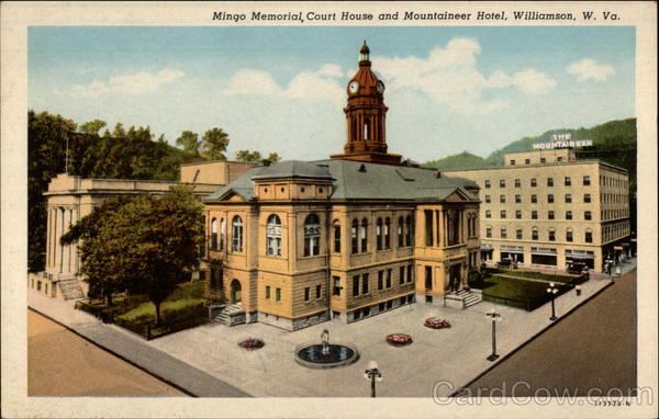 Mingo Memorial Court House And Mountaineer Hotel