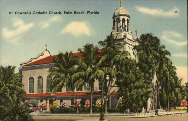 St. Edward's Catholic Church Palm Beach Florida