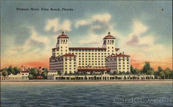 Biltmore Hotel Palm Beach Florida