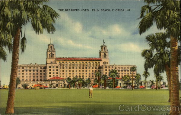 The Breakers Hotel Palm Beach Florida