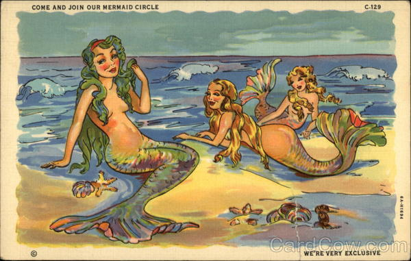 Come and Join our Mermaid Circle We're Very Exclusive
