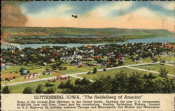 """The Heidelberg of America"" Postcard"