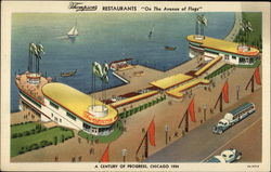 Thompson's Restaurants Postcard