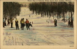 Winter play at Caberfae Winter Sports Area