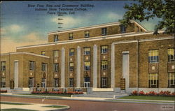 New Fine Arts and Commerce Building, Indiana State Teachers College