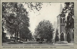 Methodist Church and Monticello Street