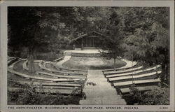 The Amphitheater, McCormick's Creek at State Park
