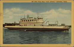 "New Ferry Boat ""Cone Johnson"""