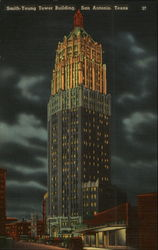 Smith-Young Tower Building Postcard