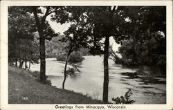 Greetings - View of River