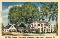 Old Club Teahouse (Once George Washington's Club House)