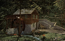 Old Rice Grist Mill near Norris Dam
