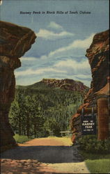 Harney Peak in Black Hills of South Dakota