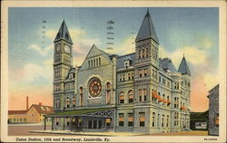 Union Station, 10th and Broadway, Louisville, Ky