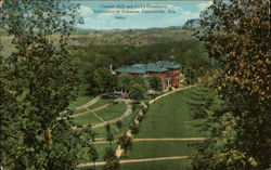 Cornell Hall and Girl's Dormitory, University of Arkansas