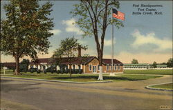 Post Headquarters, Fort Custer