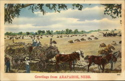 Greetings from Arapahoe, Nebr